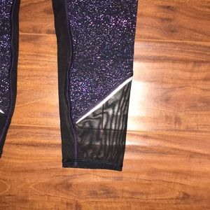 lululemon athletica Pants - NWOT purple lululemon leggings w mesh detail size8